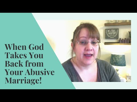 When God Takes You BACK! | DIVORCE Recovery