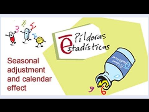 Seasonal adjustment and calendar effect - INE - Spain
