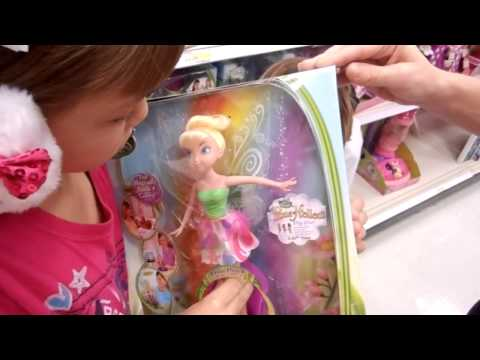 TINKERBELL DISNEY FAIRIES COLOR SURPRISE TINK DOLL REVIEW