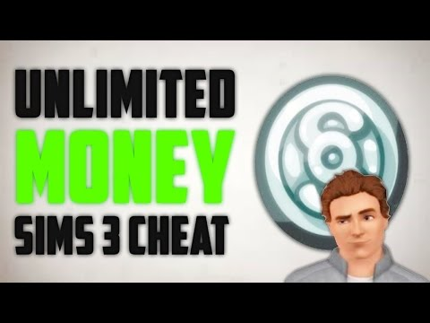 SIMS 3 UNLIMITED MONEY CHEAT! (For Xbox 360)