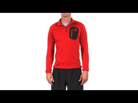 Adidas Men's Terrex Cocona Running Fleece Running Jacket | SwimOutlet.com