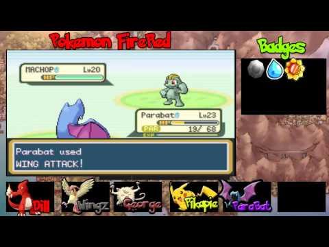 Lets Play Pokemon FireRed Episode 11 - GOLBAT!
