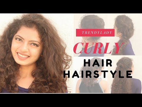 6 Easy Curly Hair Hairstyle | Short & Curly Hair Hairstyle