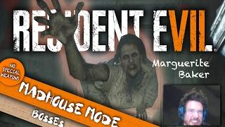 Marguerite Baker RAGE | Resident Evil 7 Madhouse Boss Battles | Walkthrough Tips