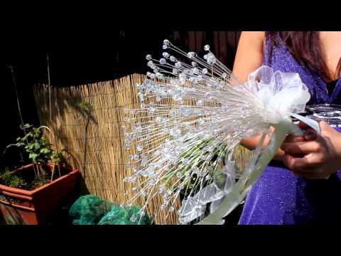 Crystal Bouquet - weddings handmade