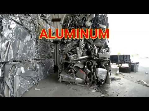 Aluminum and Stainless Steel Scrap, how to tell them apart.