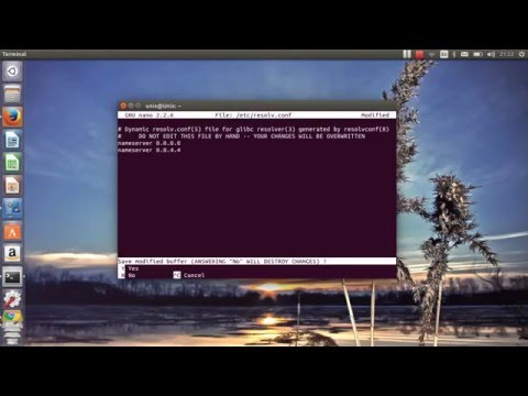 How To Change DNS Via Terminal Linux