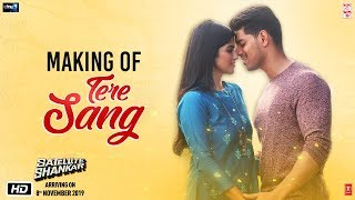 Making of Tere Sang | Satellite Shankar | Sooraj, Megha | Mithoon | Arijit Singh, Aakanksha S