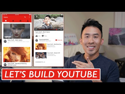 Swift: Lets Build YouTube - Home Feed: UICollectionView, AutoLayout (Ep 1)