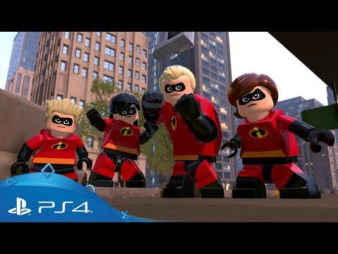 LEGO The Incredibles | Crime Waves Trailer | PS4