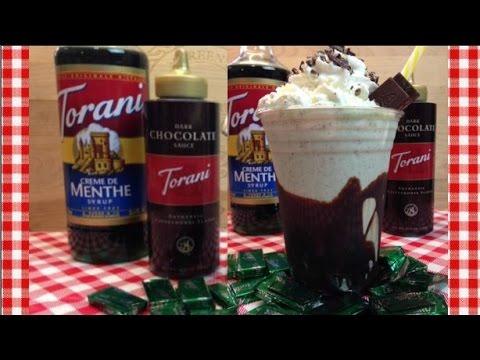Mint Chocolate Cream Shake ~ Torani Friday