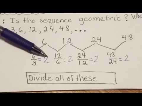 Geometric Sequences 1