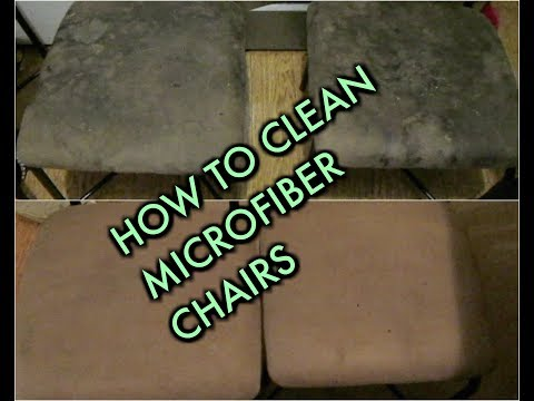 HOW TO CLEAN STAINS ON MICROFIBER
