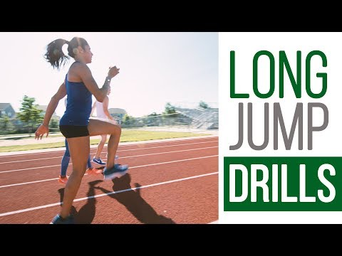 Essential Long Jump Drills - Sprint Mechanics