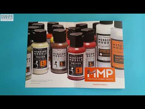 Thin and Airbrush Acrylic Paints: Mission Models
