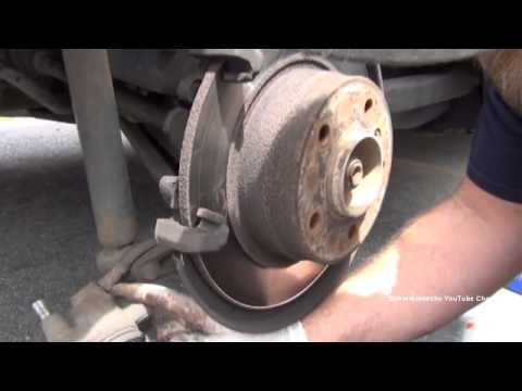 BMW 3 Series E36 Rear Brake Pads DIY Replacement Procedure