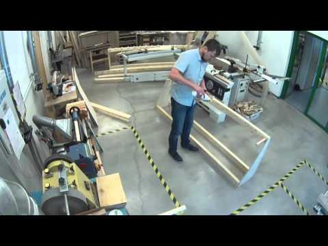 Suusaparkla (how its made: Ski Rack )