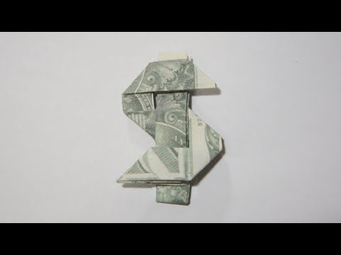 Origami $ Dollar Sign (Andrew Anselmo)
