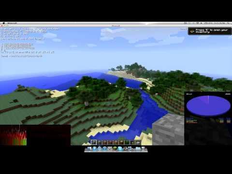 Macbook Pro Retina Display 2012 - Minecraft FPS Test