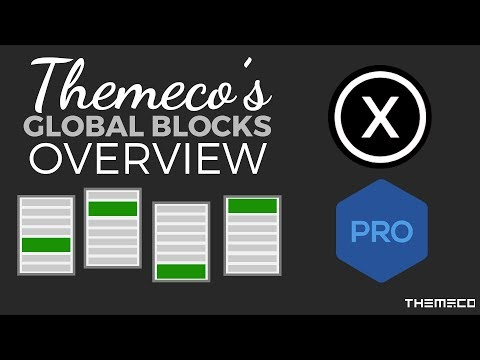 How to Use Themeco's Global Block Feature!