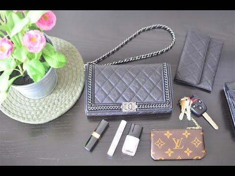 c8ca5a4942d0 Chanel Le Boy Bag Wallet on Chain (WOC) w/ short strap Review (