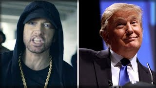 AFTER TROLLING TRUMP, EMINEM SAYS TWO WORDS THAT REVEALS THE DEPTHS OF HIS BUTTHURT OVER RAP SONG