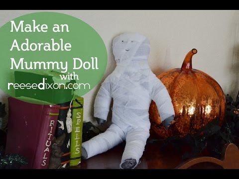 Make an adorable Mummy Doll!