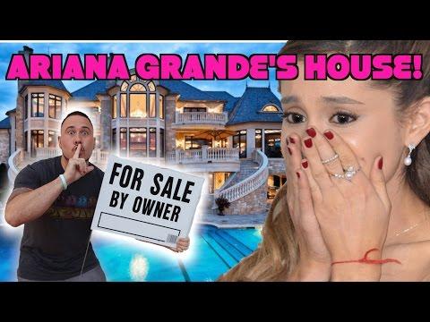 I PUT ARIANA GRANDES HOUSE UP FOR SALE! | OmarGoshTV