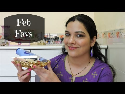 Monthly Favourites   February 2017    beautywithsneha