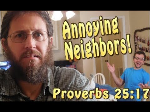 How to drive your neighbor crazy in one easy step..(Boundaries)