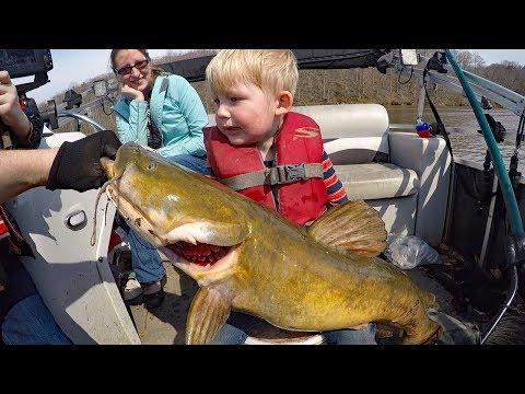 300 lb catfish fishing challenge (part 4 ) Catching big catfish (Blue, channel, flathead)
