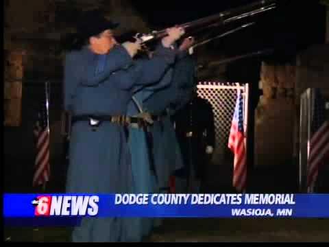 Dodge County Dedicated Civil War Memorial
