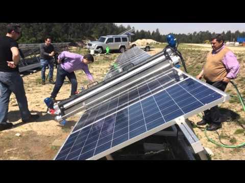 Lifeway Solar Panel Cleaning Machine