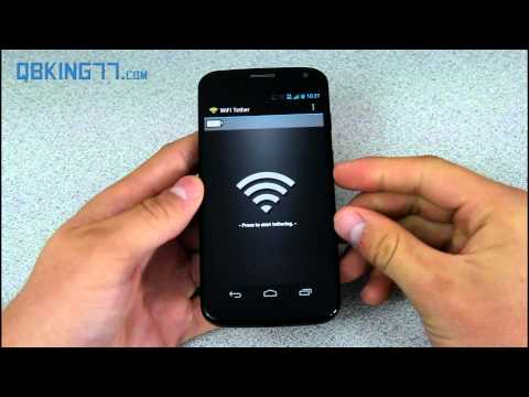 Free Wifi Tether/Hotspot on the Moto X