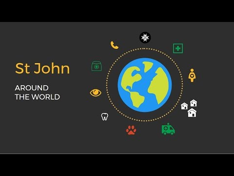 St John around the world