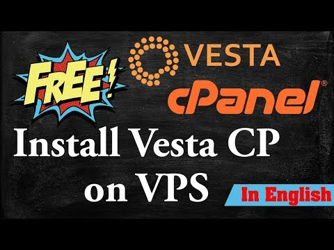 Install cpanel - How to Install vestacp cpanel on VPS || Install Free vestacp cpanel on VPS