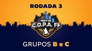 C.O.P.A. FF - Rodada 3 - Grupos B e C