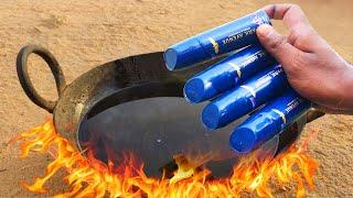 EXPERIMENT HOT OIL VS DEO BODY SPRAY