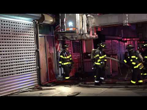 FDNY: Electrical Fire in Washington Heights