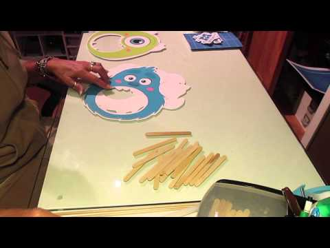 Monsters Inc photo props