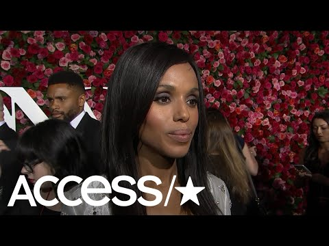 Kerry Washington On Her Return To Broadway; Vacationing With The 'Scandal' Cast | Access
