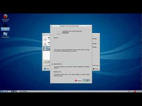 How to add root user in Lubuntu