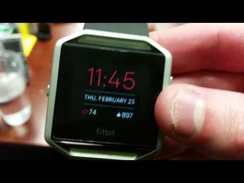 Fitbit Blaze Text Messaging - Smartwatch Nerd