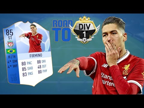 TOTGS FIRMINO - FIFA 18 | Road to Division One (RTG) #1