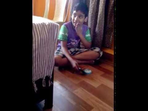 Autistic boy sings Yo Yo Honey Singh's Blue Eyes Song.......