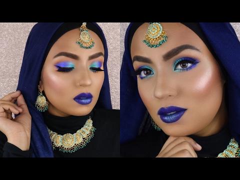 Pakistani Bold Bridal Look Valima Appropriate?🤔 w/ Mermaid Vibes (EASY)