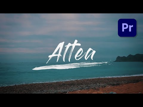 Write-On Text Effect in Adobe Premiere Pro -Tutorial
