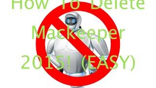 How To Delete Mackeeper 2015 Easy
