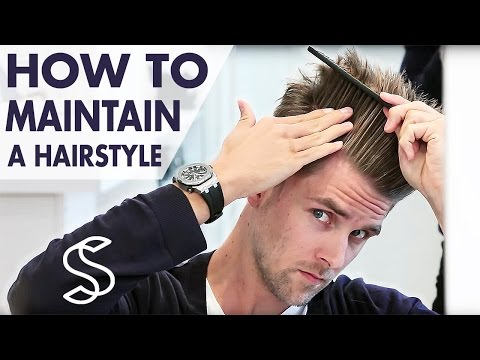 How to maintain a hairstyle - Undercut and volume - Men's hair inspiration by Slikhaar TV
