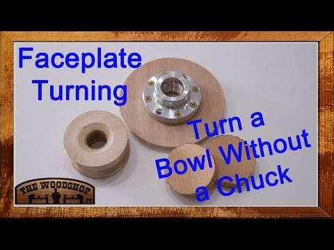 Woodturning Back-to-Basics #3 Turn a bowl without a chuck